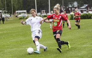 Victoria Forss var ett ständigt orosmoment för Selångers försvar.