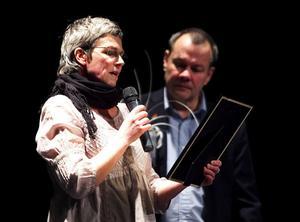 Jane och Kjell Rönnqvist, föräldrar till Nathalie som för sista gången delade ut belöningar från Nathalie fonden till eldsjälar som jobbar med ungdomar.