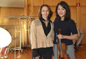 Sarah Ioannides och Kristin Lee tycker om att arbeta ihop. Nu gör de det igen med Nordiska Kammarorkestern.