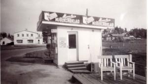 Kläppakiosken var en samlingspunkt för de boende i Slotte och Kläppa.