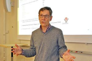 Stefan Ström, överläkare på operationskliniken, är medicinskt ansvarig för projektet.