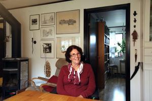 """HANDLINGSKRAFTIG. Trots att Maine Westin är svårt               sjuk i ALS och knappt kan röra sig är hon fortfarande aktiv inom politiken i Hofors. """"Så länge jag orkar och kan prata ska jag fortsätta med politiken"""""""