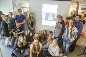 Åttondeklassen i Funäsdalen vann en resa till Göteborg för sin insats i Skolverkets tävling Talangjakten.