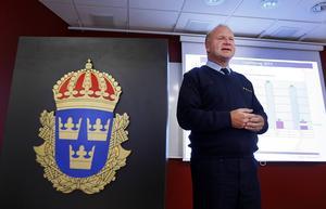 Tomas Åslund på polisen i Sundsvall.