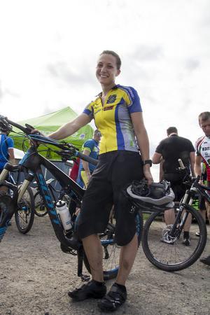 Ylva Lundin glänste och tog sig i mål i imponerande hastighet.