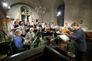 Foto: Anders Sjöberg Lohärads kyrkokör vid en tidigare konsert. På Långfredagen framför kören Jesus Christ Superstar.