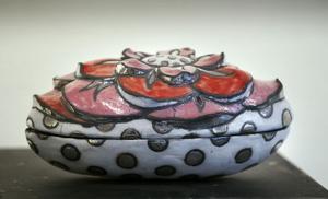 Keramik av Lena Andersson, Karsjö, Järvsö.