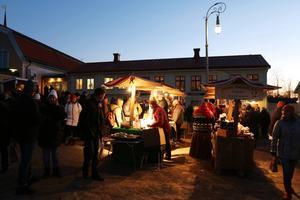 Årets upplaga av Jamtlis julmarknad drog mycket folk.