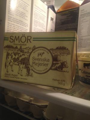 Svenska mejerier funka inte i butiksdisken så nu döps smöret om till Grådös smör