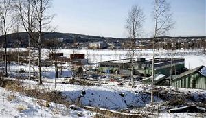 På sikt ska industriområdet vid Kattastrand bli ett attraktivt bostadsområde med fint läge utmed södra sundet.