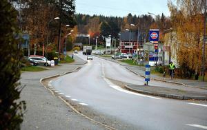 Norra Borgsjövägen.