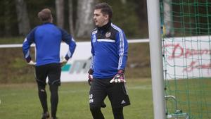 Daniel Hedlund var säker i målet mot Hofors.