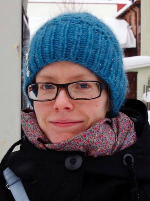 Helen  Andersson, Östersund:– Nej. Jag åker skidor i Bydalen  i stället.