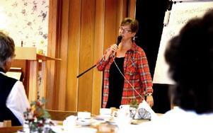 Lisbeth Ander är konsumentrådgivare i Säter, Hedemora och Gagnefs kommuner. Konsumenter kan ringa henne på nummer 0225-552 66. Foto: Johan Källs/DT