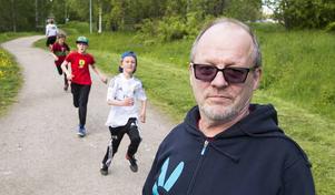 Projektledaren Lars Fahlberg ser fram emot ombygganden av spåret kring Sidsjön.