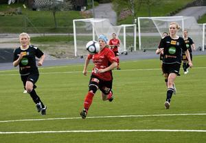 Jonna-Li Hedqvist och hennes Team Hudik slarvade bort segern i derbyt mot Mohed.