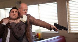 Bruce Willis i Looper får Per Bjurman att tänka på sitt yngre jag.