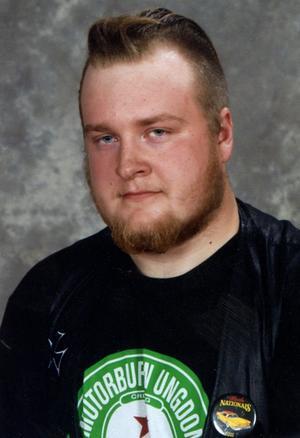 Mattias NilseÅkerö, Dala-Husby. Han går fordonsprogrammet vid Martin Koch-gymnasiet i Hedemora.