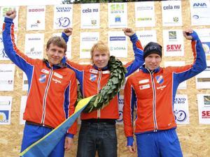 En glänsande trio från Bollnäs – Jonas Vytautas Gvildys, Jerker Lysell och Jesper Lysell.