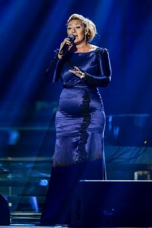 Sarah Dawn Finer, här på en bild från Idrottsgalan i Globen i januari i år.