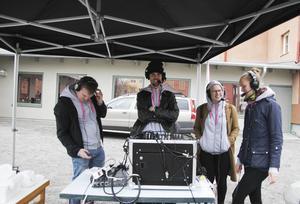 Radiolinjen sänder från Colliniparken.