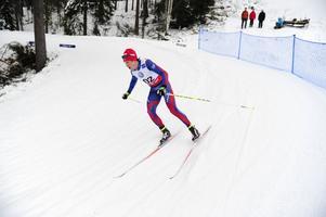 Martin Johansson blev nia, 2.17,9 efter segraren Johan Olsson, Åsarna.