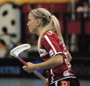 Anna Wijk trampade snett i mötet mot IBF Falun och fick hjälpas av planen. Hon fullföljde dock matchen och säger att det inte är någon fara för hennes medverkan i lördagens bortamöte mot Jönköping.