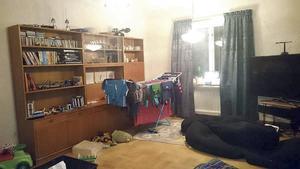 Vardagsrummet som ska få en make over.