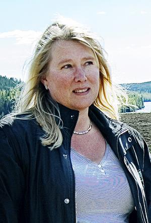 Karin Eriksson blir ny vd för mineralvattenbolaget Flästa Källa.Foto: Martin Östergårds/Arkiv