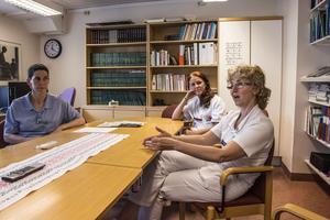 På Örnsköldsviks sjukhus finns det totalt finns 3,7 tillsatta tjänster – av 8.