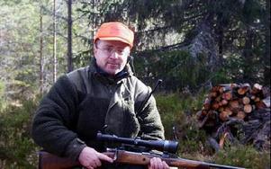 I många år har Marco Natusda från Tyskland jagat älg i Vansbergets jaktlag.FOTO:LEIF OLSSON