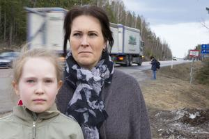 Leonie Fors dotter Danique fanns med i bilen när olyckan skedde. Hon var då sju år.