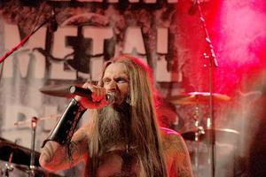 Tony Sunnhag fick avsluta Bollnäs Metal Rules med sitt Gormathon.
