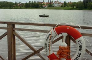 Det blir inget vattenspel i sjön Vågen i sommar, enligt ett beslut i tekniska nämnden.