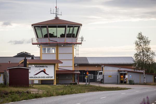 Härjedalen Sveg Airport.