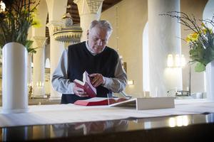 Gustaf Åhman har följt, firat och stöttat under sina år som präst i Järvsö.