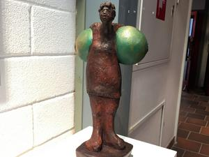 Skulptur av May Lindholm, Siljansnäs.
