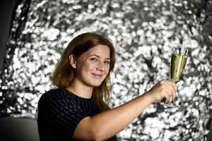 Ett bra alkoholfritt mousserande vin ska enligt sommelieren Sofia Castensson vara torrt.   Pontus Lundahl/TT