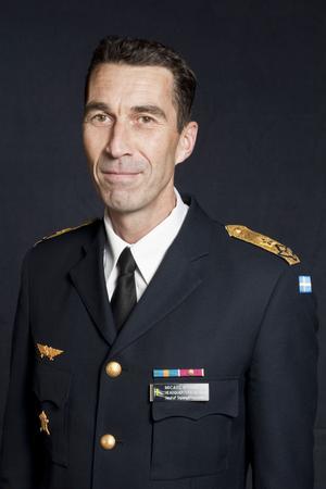 Just nu bär Micael Bydén brigadgenerals grad, efter nyår blir det befordran - till generalmajor.