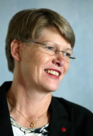 Sigbritt Ahl är socialdemokratiskt kommunalråd i Härnösand. Hon tror inte att hennes kommun mäktar med några fler större kultursatsningar.