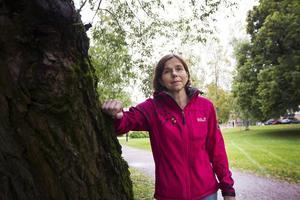 Katarina Sandström, dietist, lägger vikten vid att få i sig D-vitamin nu i höstmörkret.