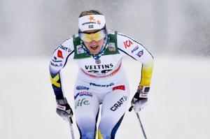 Stina Nilsson var bara bäst i Kuusamos sprinttävling.