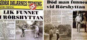 I juni 1988 hittades Yenon Levi mördad i Rörshyttan.