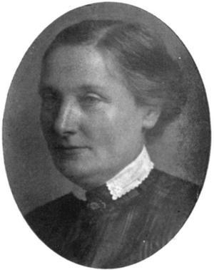MEDELÅLDERS MITT. Lärarinnan Anna Sundbom, representerade De frisinnade och var runt 50 år när hon debuterade som politiker för hundra år sedan.