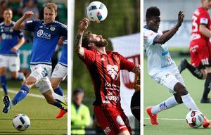 Lars Gerson, GIF Sundsvall, Andrew Stadler, Östersunds FK och Kwame Bonsu, Gefle IF, tog alla plats på mittfältet i veckans Norrlandselva.