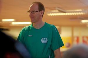 Peter Jenestam, Norden, spelade bra i triangeln. Foto: Mikael Stenkvist
