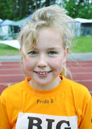 Frida Bengtsson, 9 år, Vikingaskolan, klass 3A– Träffa kompisar och allt annat runt omkring är också roligt.