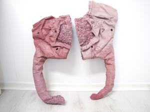 Delar aven rosa toalettstol kommer att finnas med som en av skulpturerna på Kvarnen.