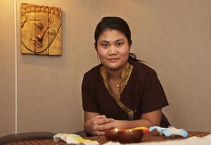 Pimol di Zazzo har drivit den egna verksamheten Dina Thai Spa i tre månader.