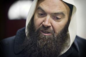 Fekri Hamad är noga med att betona att han tar avstånd från våldsbejakande extemism.